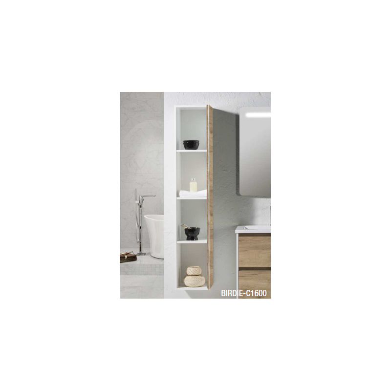colonne meuble suspendre birdie robinet and co meuble. Black Bedroom Furniture Sets. Home Design Ideas