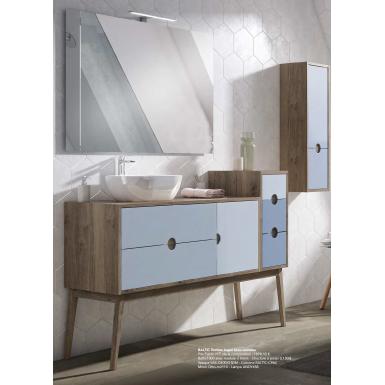 meuble de salle de bain baltic sur pieds ou suspendre robinet and co meuble sur pieds. Black Bedroom Furniture Sets. Home Design Ideas