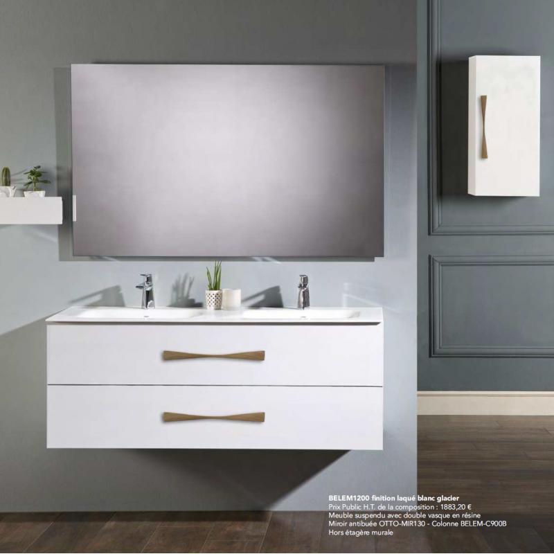 Meuble de salle de bain BELEM à suspendre - Robinet&Co