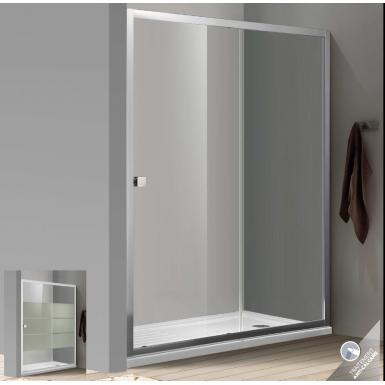 Paroi de douche bellagio avec porte coulissante robinet and co paroi de douche - Paroi de douche avec porte coulissante ...