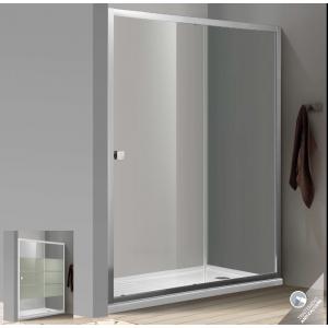 Paroi de douche d 39 angle bellagio avec porte coulissante robinet and co paroi de douche - Porte de douche d angle coulissante ...