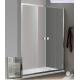 Paroi de douche d'angle BELLAGIO avec porte double coulissante + fixe latérale