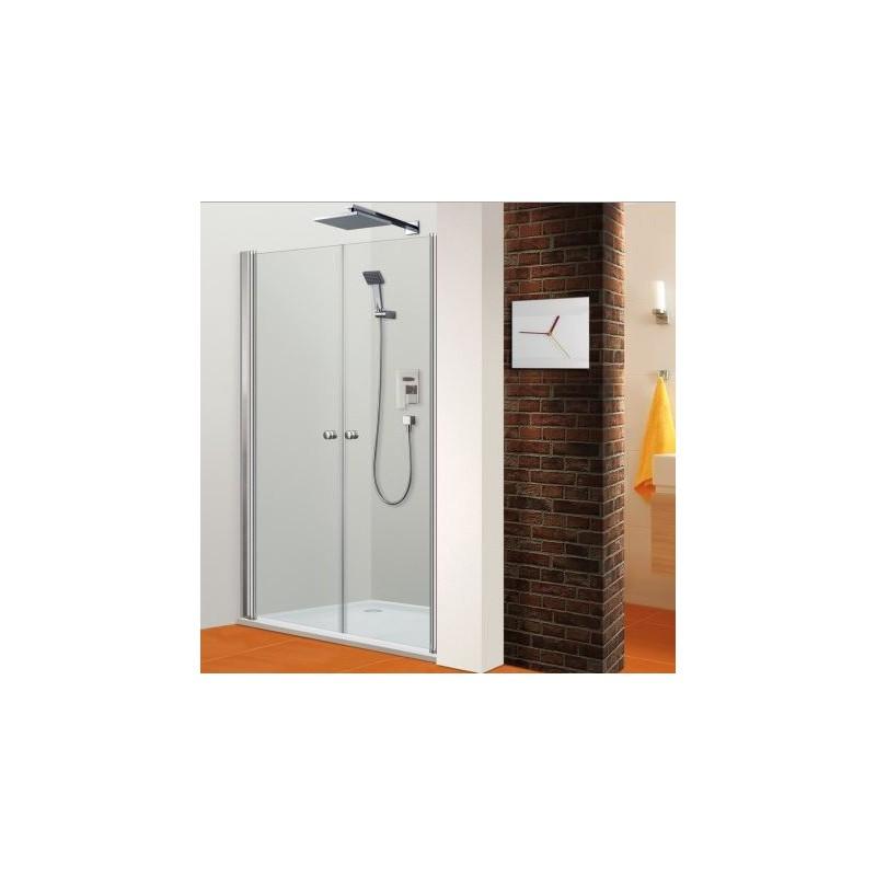 Paroi de douche frontale portes battantes venus robinet for Paroi de douche porte