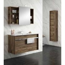 Meuble salle de bain suspendu TONGA 2 tiroirs