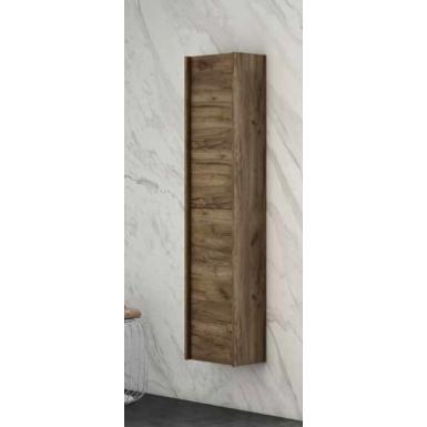 Colonne salle de bain suspendue TONGA 2 portes réversible