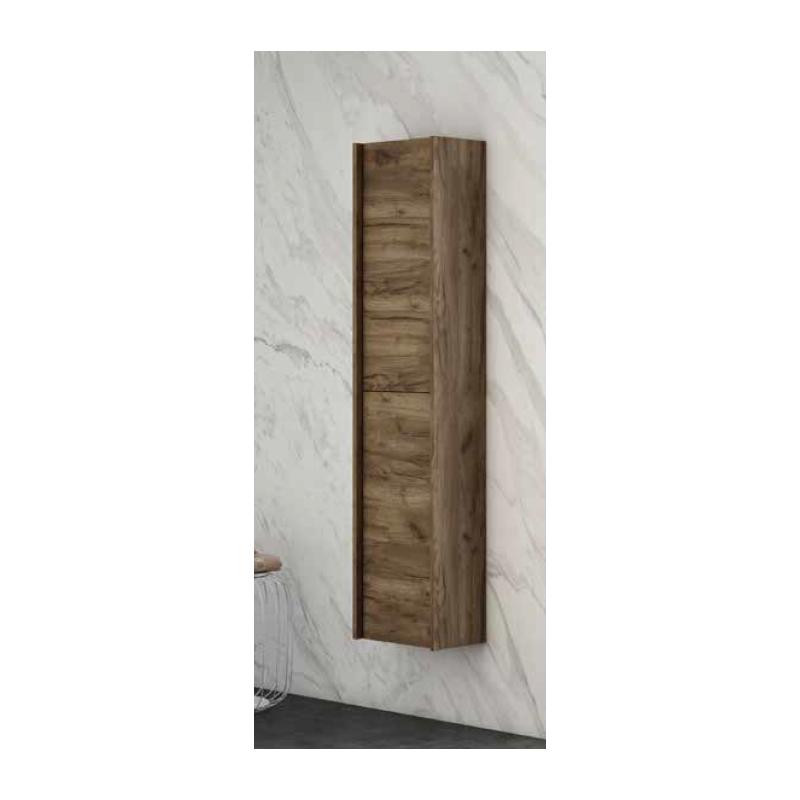 Colonne salle de bain suspendue tonga 2 portes r versible for Colonne de salle de bain suspendue