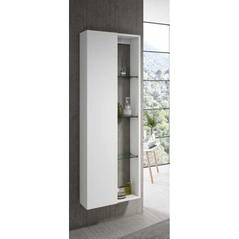 colonne de salle de bain suspendue jaipur 1 porte et. Black Bedroom Furniture Sets. Home Design Ideas