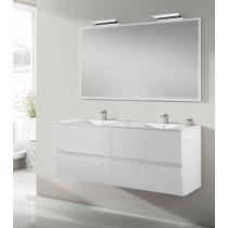 Lavabo meuble salle de bain Omega suspendu 4 tiroirs par Robinet and Co