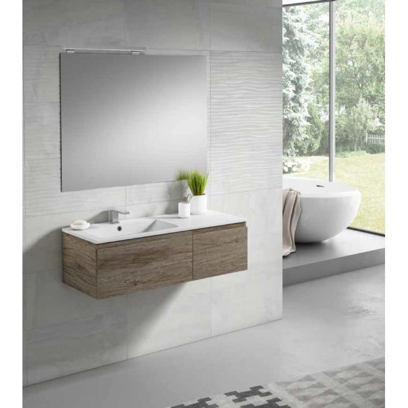 meuble double vasque salle de bain alfa 2 tiroirs par robinet and co - Meuble Double Vasque A Poser 2