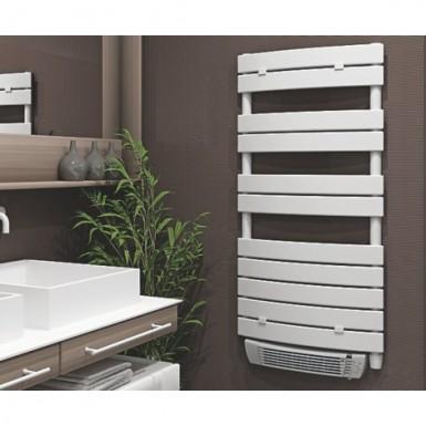 Sèche-serviettes électrique soufflant à lame plate