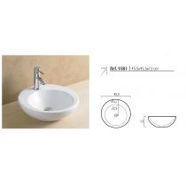 Vasque Céramique à poser ARTISTIC