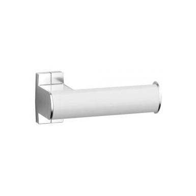 Porte-rouleaux papier WC blanc/chromé mat PELLET