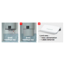 Accessoires pour chauffe eau MALICIO 2 de chez THERMOR