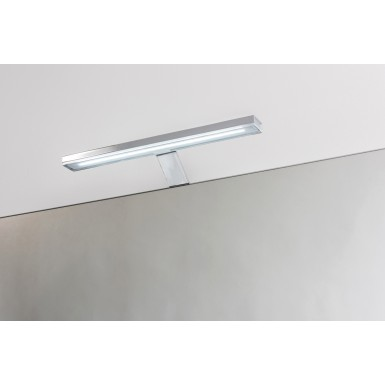 Applique spot salle de bain BETH 28 led chromé style contemporain