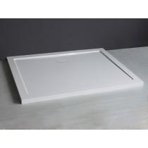 Receveur Bull 120x80 blanc blanc Contemporain