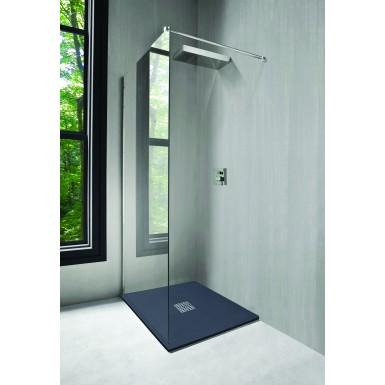Bac de douche 90x90 cm NOLA de couleur gris anthracite moderne