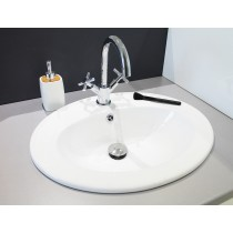 vasque zoe blanc Moderne