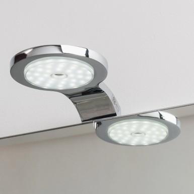 Spot applique amy led chromé style moderne - Vente Accessoires de ...