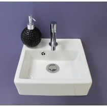 Lave mains FIGARI blanc Contemporain
