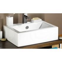 vasque cubic blanc Moderne