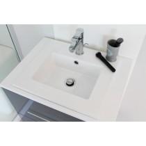 plan ceramique kio blanc Moderne