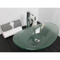 vasque pirogue Verre Moderne