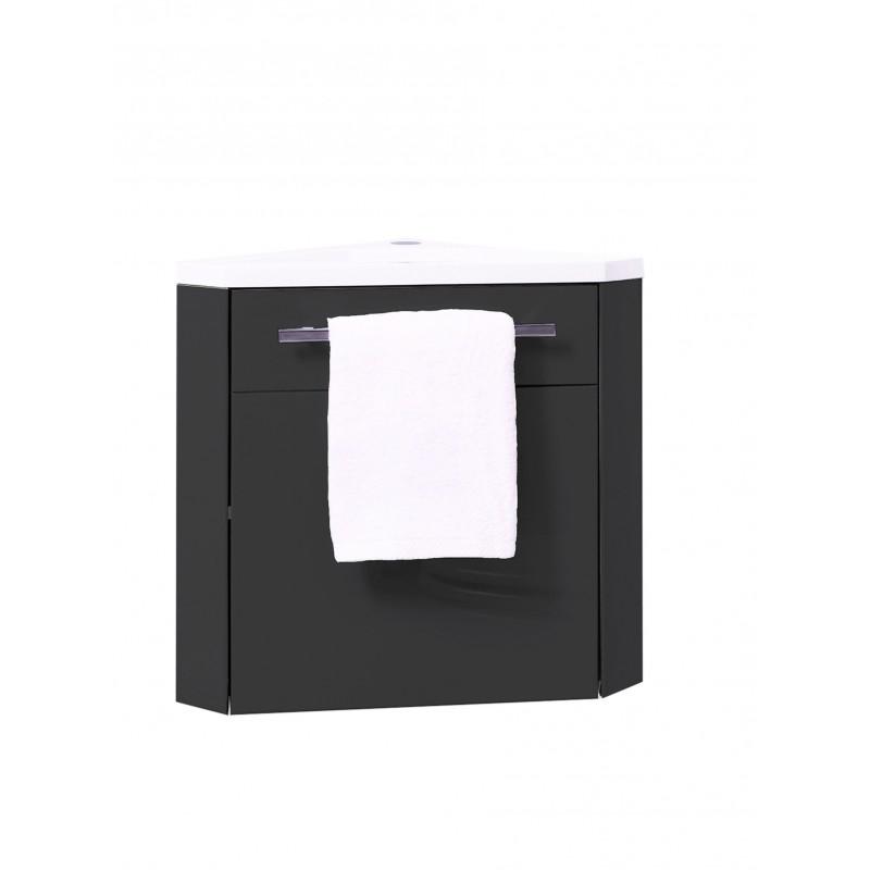 lave mains d angle nino couleur gris et style moderne. Black Bedroom Furniture Sets. Home Design Ideas