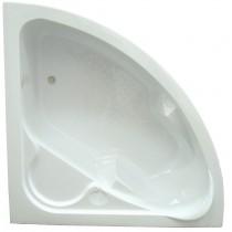 BAIGNOIRE ANGLE 135X135 blanc Contemporain