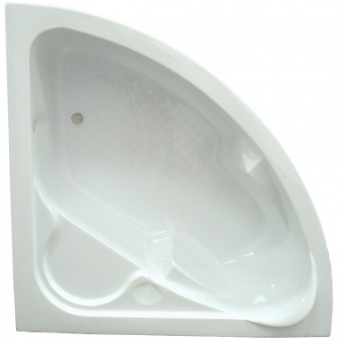 Baignoire Dangle 135x135 Couleur Blanc Et Style Contemporain