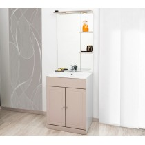MEUBLE A POSER TOLEDE 60 TAUPE taupe Moderne