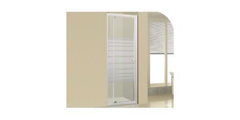 Paroi pivotante et portes de douche pivotantes
