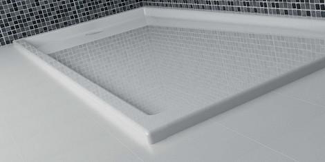 receveur de douche acrylique bac douche en acrylique robinet and co. Black Bedroom Furniture Sets. Home Design Ideas