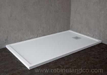 receveur douche marbre robinet and co choisir du marbre de synthese. Black Bedroom Furniture Sets. Home Design Ideas